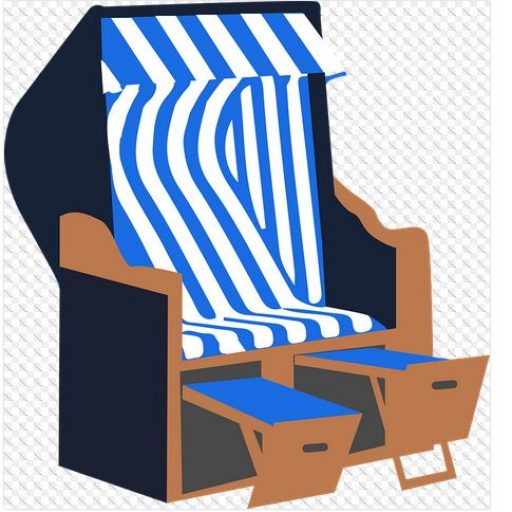 Prächtig Vier Teile machen den Strandkorb aus - beaCHair-dein Strandkorb &OY_54