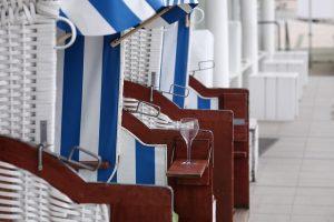 Strandkorb Tischlein